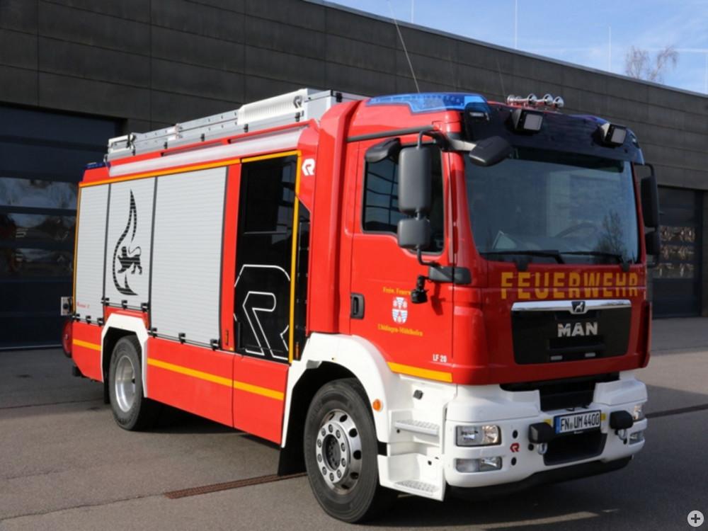 erstes Löschfahrzeug der Feuerwehr Uhldingen