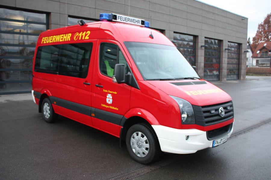 Führungsfahrzeug der Feuerwehr Uhldinegn
