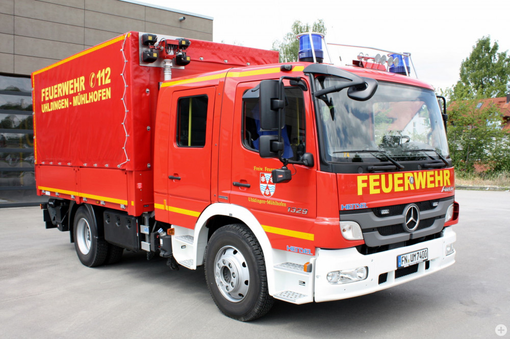Gerätewagen Trasport der Feuerwehr Uhldingen