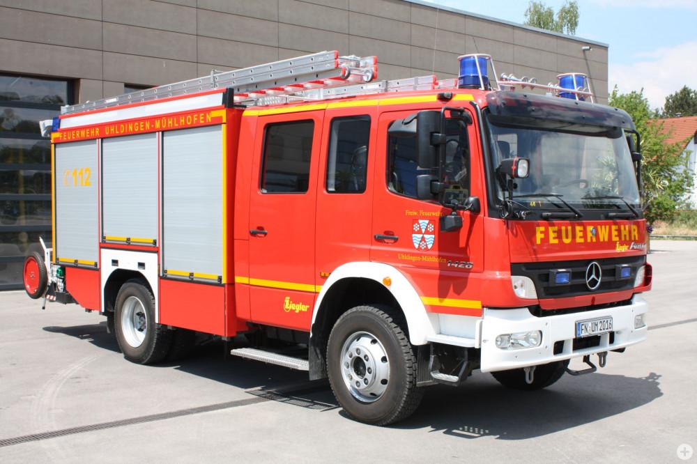 zweites Löschfahrzeug der Feuerwehr Uhldingen