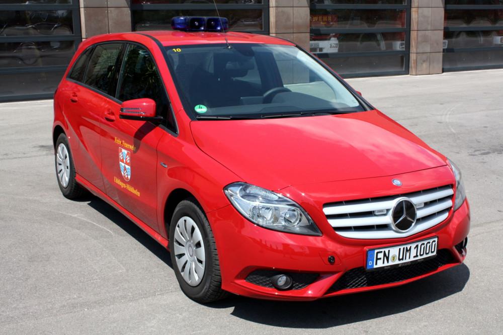 Dienstfahrzeug des Feuerwehrkommandanten