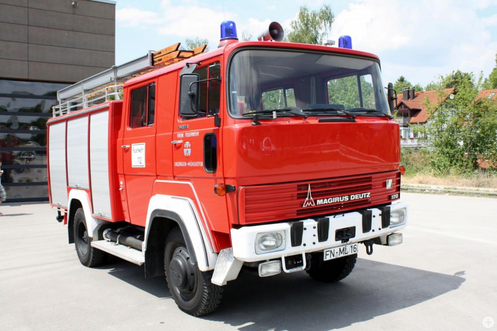 ehemaliges Tanklöschfahrzeug der Feuerwehr Uhldingen