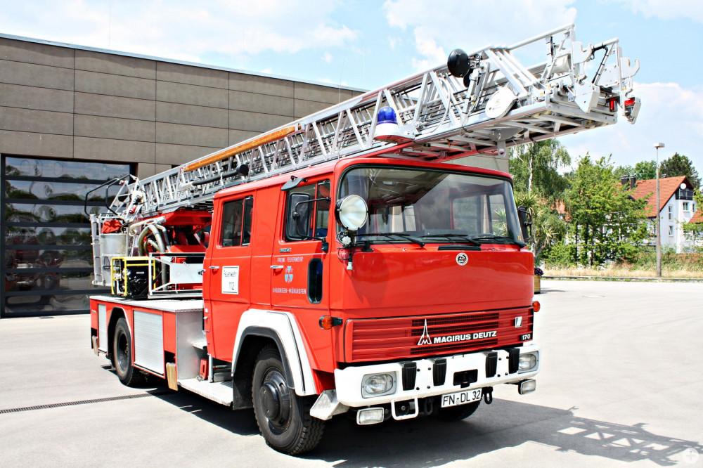 ehemalige Drehleiter der Feuerwehr Uhldingen