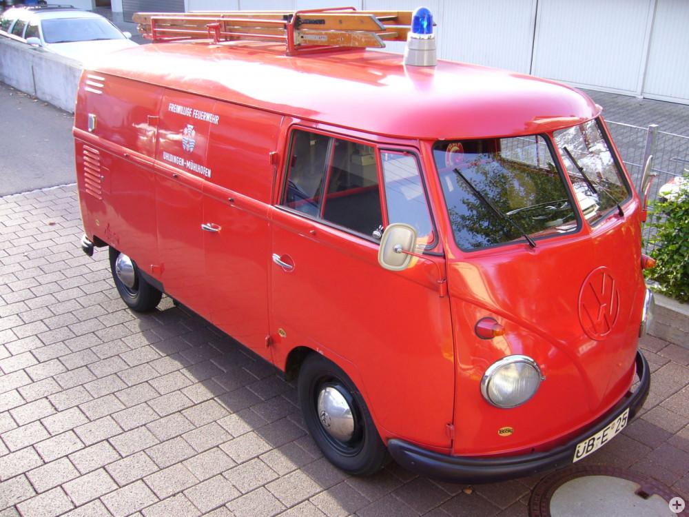 VW Bulli als Schlauchwagen 2000