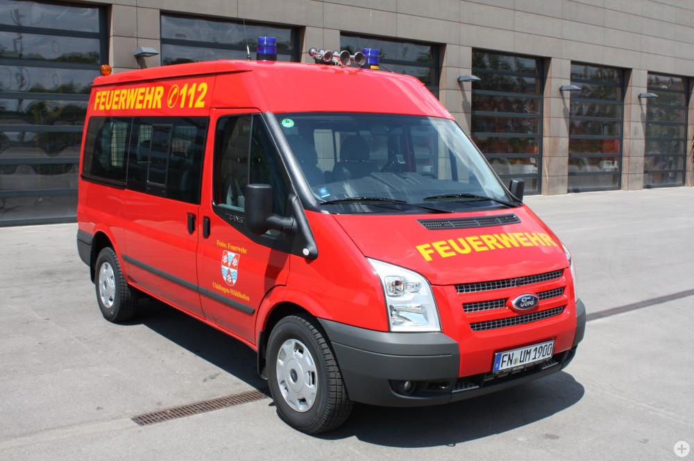 Mannschaftstransportfahrzeug der Feuerwehr Uhldingen